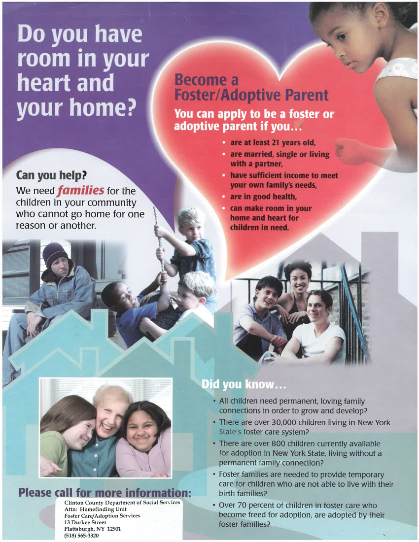 Foster Care Poster